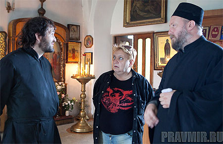 Протоиерей Георгий Белодуров, Татьяна Белодурова в храме
